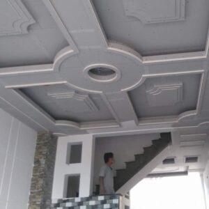 Thi công sửa nhà, trang trí trần nhà cực kỳ ấn tượng